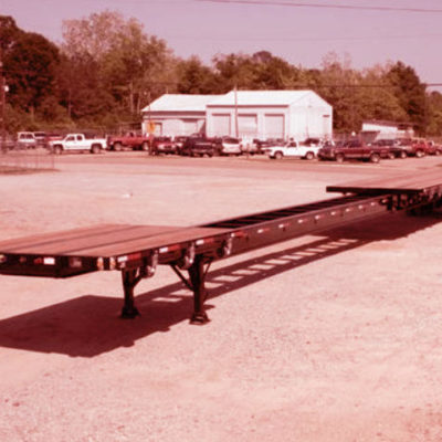 Extended Flatbed Trailer