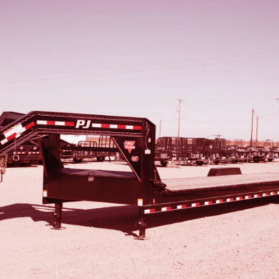 Removable Gooseneck Trailer